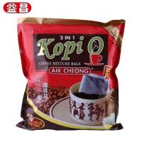 益昌 黑咖啡(二合一)速溶咖啡 400g/袋 马来西亚进口
