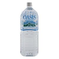 奥熙斯(OASIS) 立山连峰 天然水 矿泉水 纯净水 蒸馏水 饮料 2L 日本进口