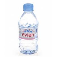 依云(Evian)天然矿泉水330ml 法国进口