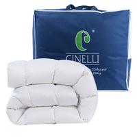 森纳利(Cinelli)(百联直采)佩拉可分拆子母被 95%白鹅绒四季被(夏季薄款)210*210cm意大利进口