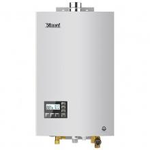 林内(Rinnai)RUS-13E55CWNF 13升水量伺服器 CO安防恒温 防冻 燃气热水器 (天然气)(JSQ26-55C)