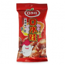 口水娃 兰花豆 香辣味 88g/包 坚果炒货