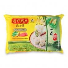 湾仔码头 荠菜冬笋猪肉水饺 720g